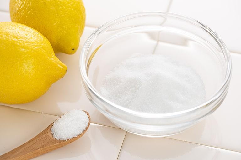 安定化二酸化塩素製品にクエン酸を使用する必要はある?